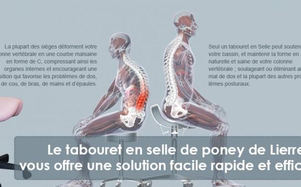 Les tabourets en forme de selle: un remède efficace contre les maux de dos!
