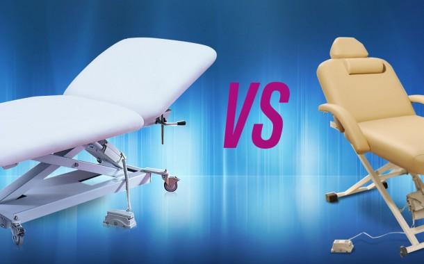 2-part versus 3-part massage tables