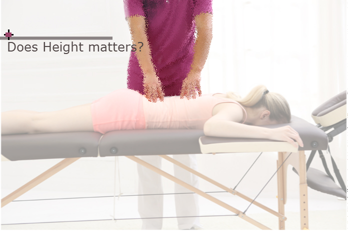 What is the best massage table height for me?