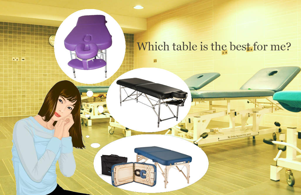 What size of massage table suits you best?