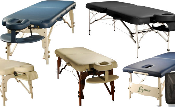 Ratio of quality to price of massage tables