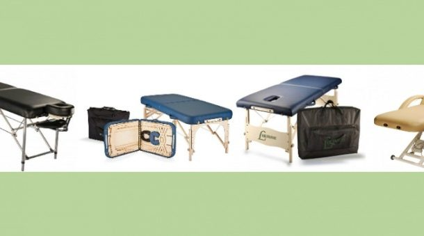 Massage Tables by Profession, part 1: Massotherapists, Physiotherapists and Osteopaths