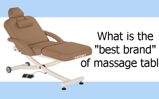 What is the best brand of massage table?