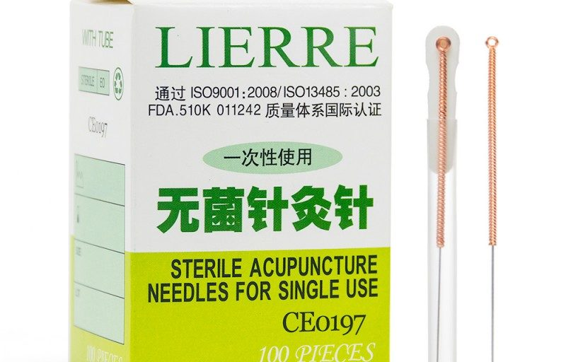 Lierre Acupuncture Needle from Lierre Canada