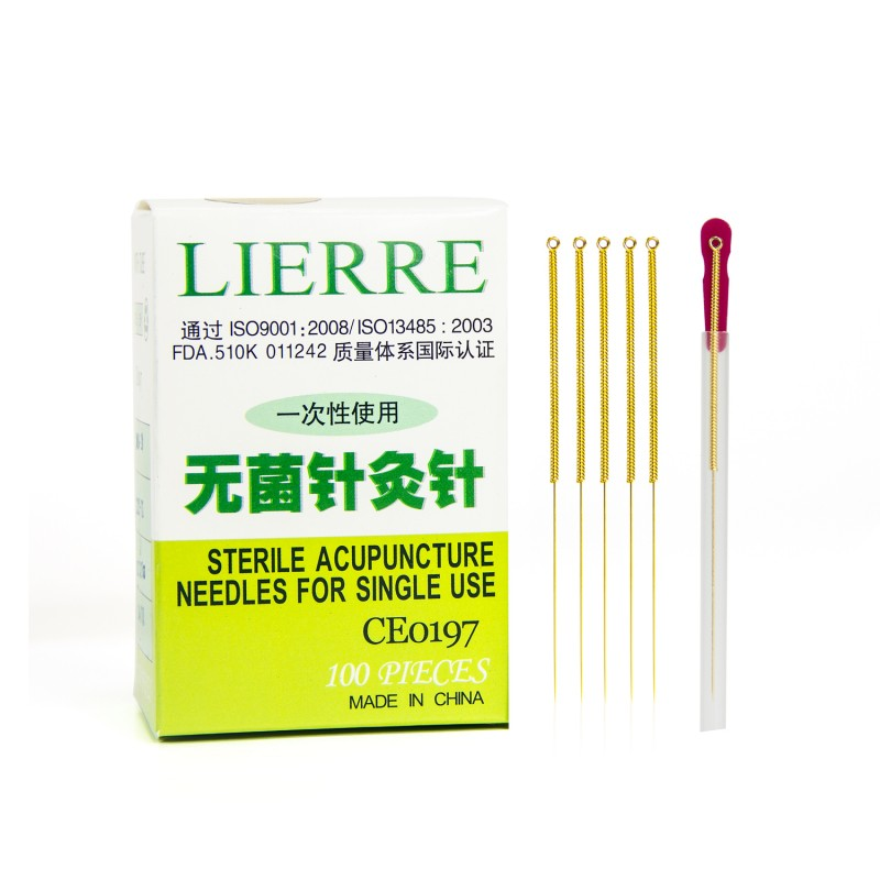 Lierre Golden Acupuncture Needles from Lierre Canada