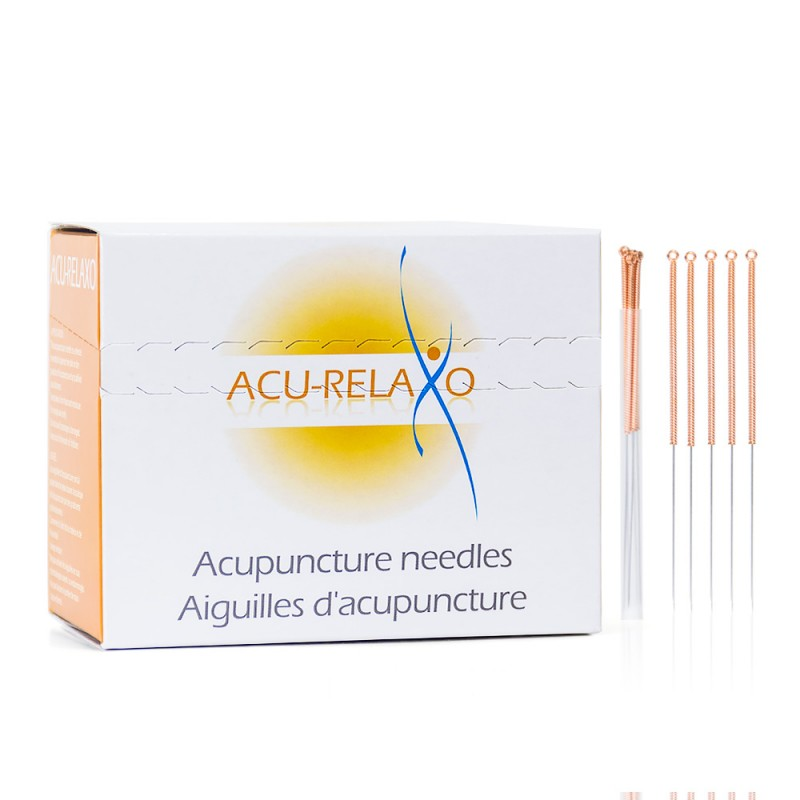 Acu Relaxo acupuncture needles 5 Bulk from Lierre Canada