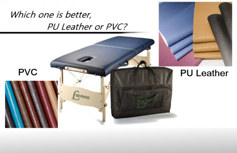 Which material is more suitable for massage table?