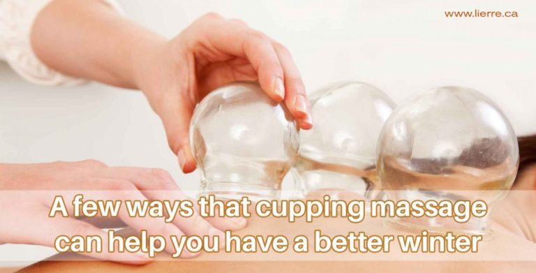 A few ways that cupping massage can help you have a better winter