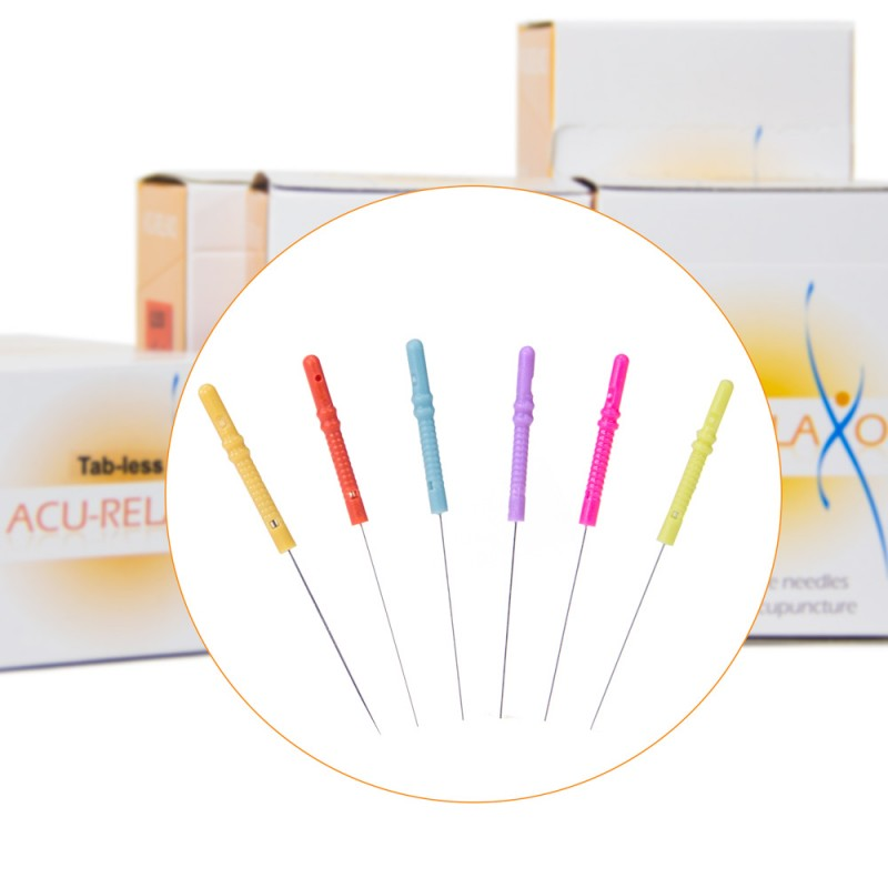 Acu Relaxo™ Tab-less Acupuncture Needles 100 / Box