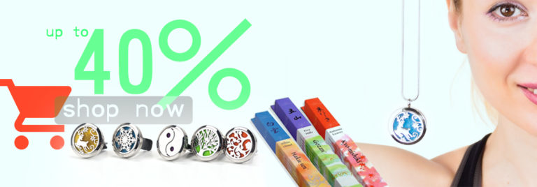 Up to 40% on Aromatherapy
