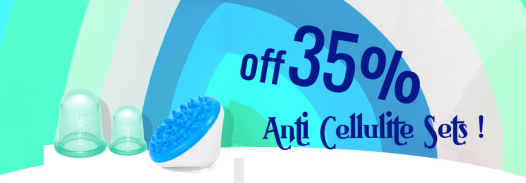 35% OFF most of the Anti-cellulite Sets