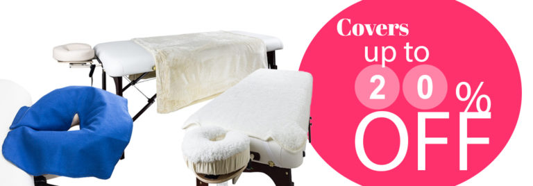 Up to 20% OFF on covers for tables, headrests, and blanket