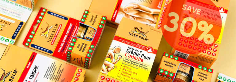 All Items from Tiger Balm at 30% OFF!