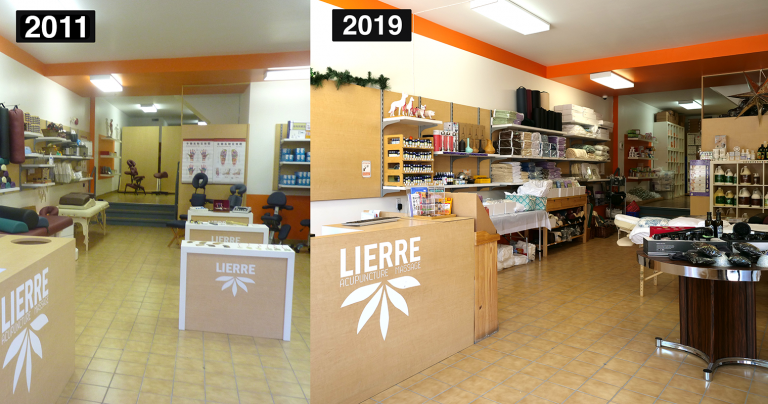 Lierre Over the Past 10 Years