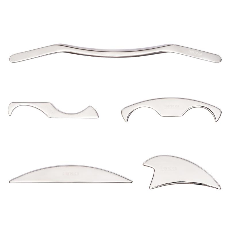 What is instrument assisted soft tissue mobilization? -Stainless Steel IASTM tools Half Moon Deluxe Bundle (5 Pieces)