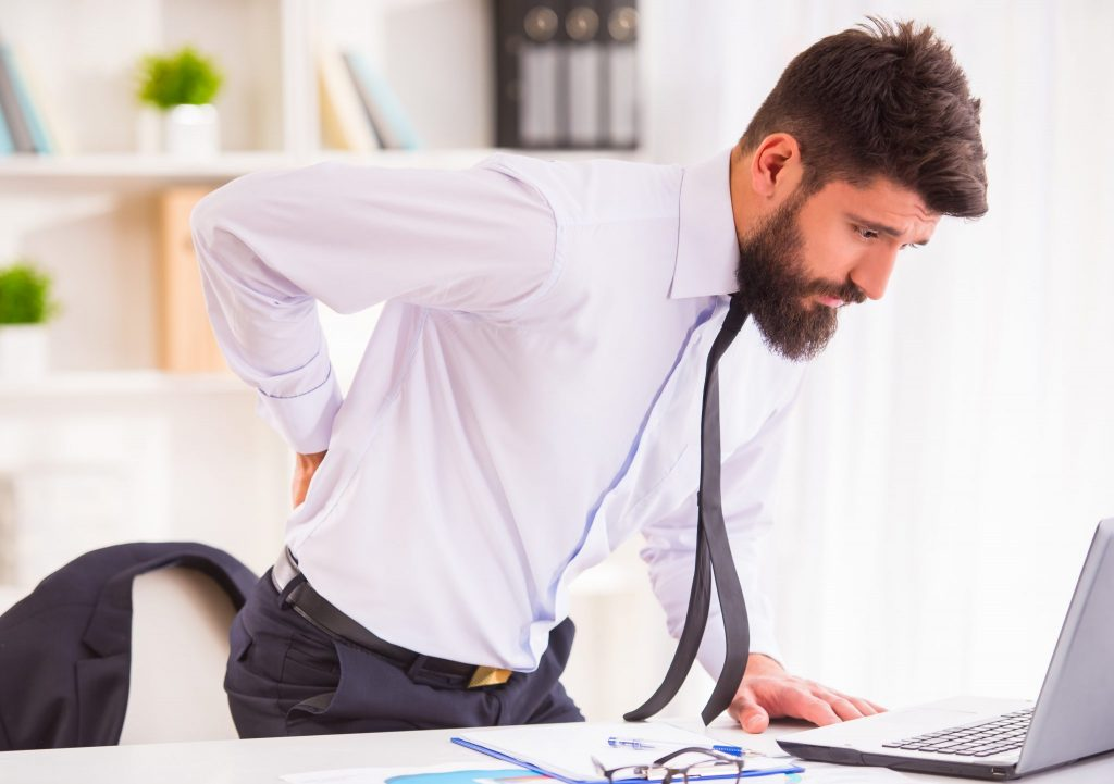How do you get rid of back pain fast?