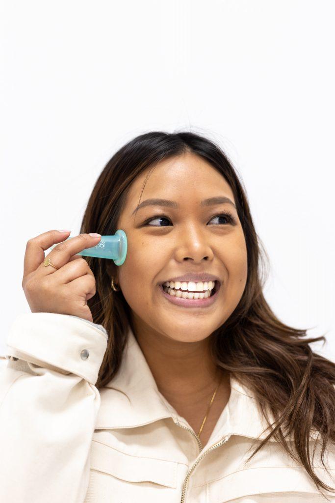 Jade Soft Facial Cupping set Lierre.ca Canada