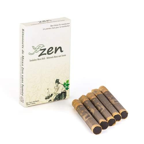 Zen smokeless moxa sticks from Lierre.ca Canada