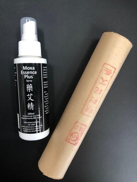 Moxa stick and liquid moxa from Lierre.ca Canada