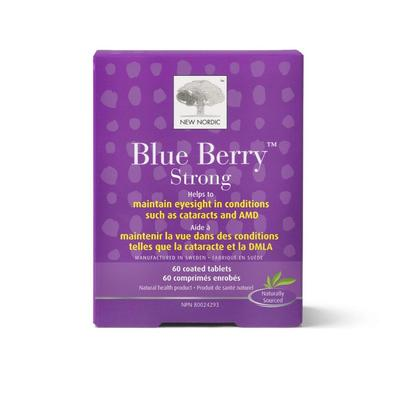 New Nordic Blue Berry Strong Eyesight Management Tablets